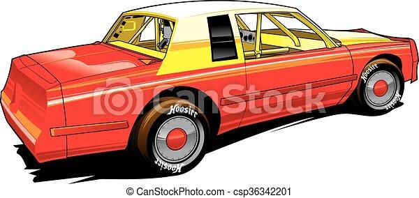 stocl, hobby, piattaforma girevole, automobile - csp36342201