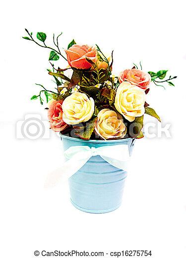 Stoff, topf, rosen, hintergrund, weisse blumen Stockbilder - Suche ...