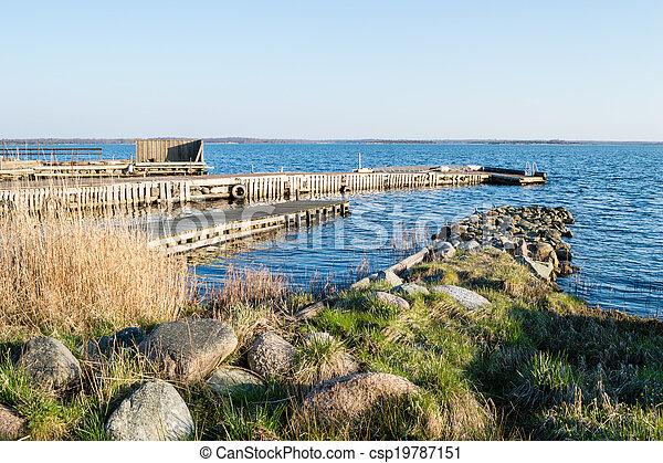 Stone and wooden bridges - csp19787151