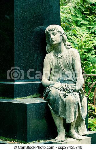 Stone Angel. - csp27425740