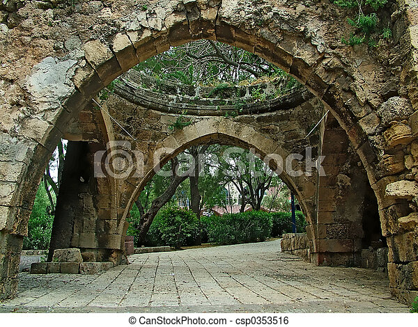 Stone arch - csp0353516