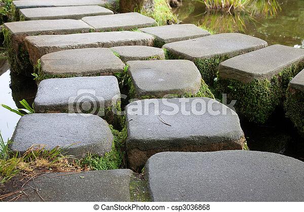 Stone Bridge Japanese Garden