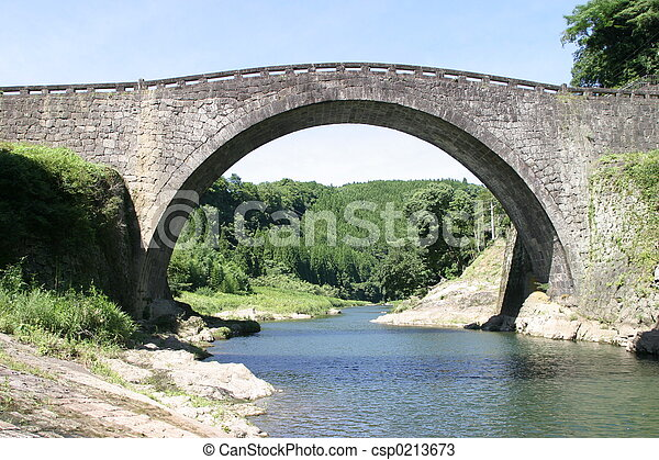 Stone bridge - csp0213673