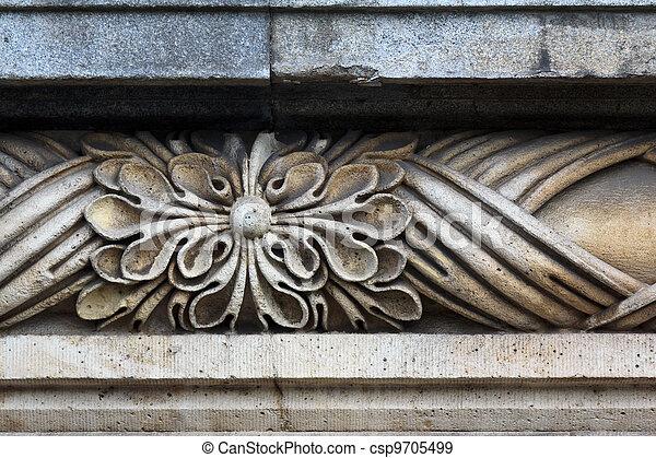 Stone detail - csp9705499