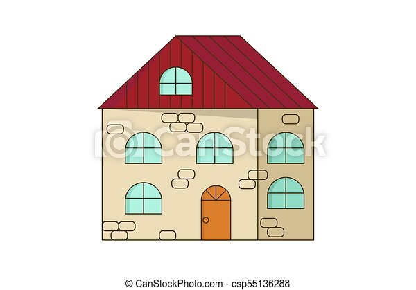 Stone Home Or Cottage Building