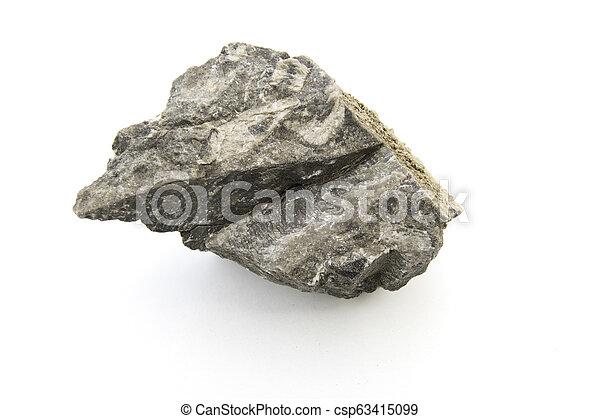 stone isolated over white background - csp63415099