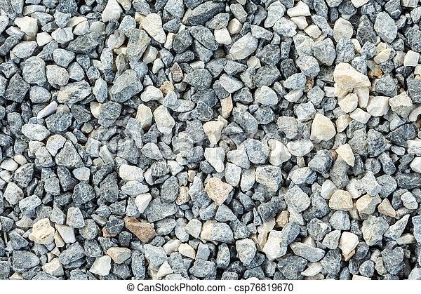 Stone on the floor - csp76819670