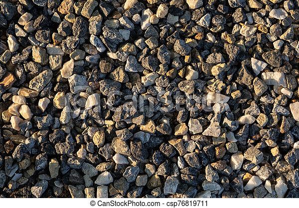 Stone on the floor - csp76819711