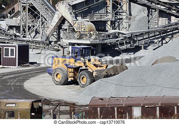 stone quarry - csp13710076