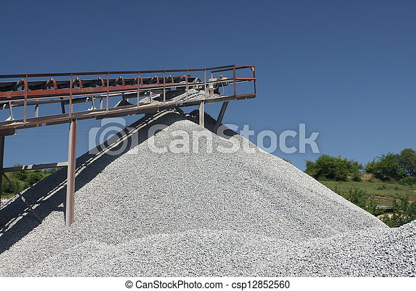 stone quarry - csp12852560