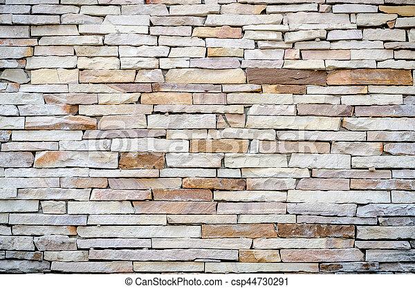 stone rock background texture - csp44730291