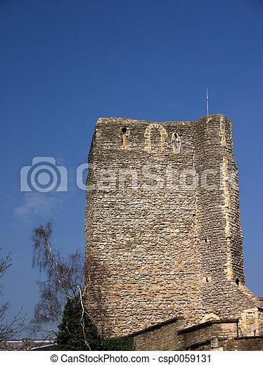 Stone tower - csp0059131
