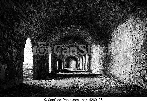 Stone tunnel - csp14269135