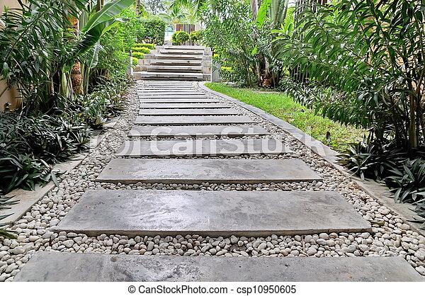 Stone walkway - csp10950605