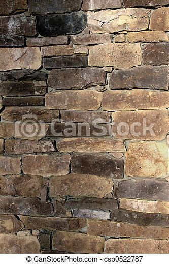 Stone Wall 2 - csp0522787