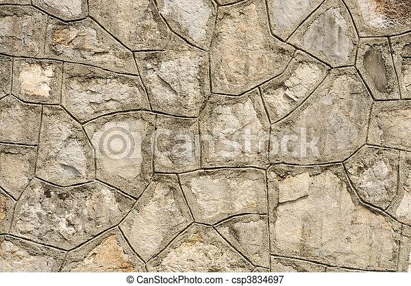 Stone wall 2 - csp3834697