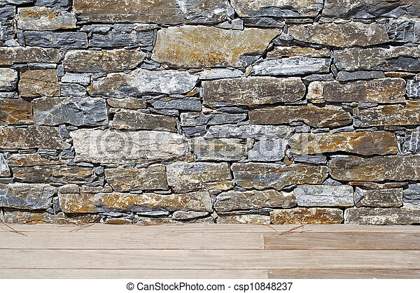 Stone wall 2 - csp10848237