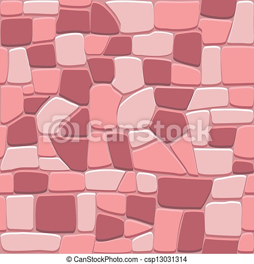 Stone wall background in seamless format - csp13031314