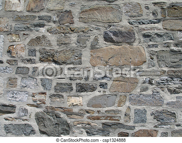 stone wall background - csp1324888