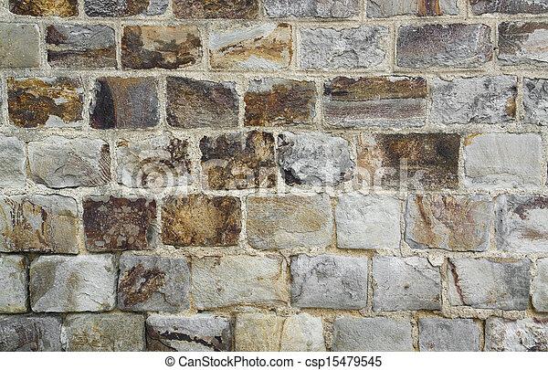 stone wall detail - csp15479545
