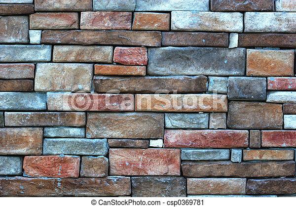 Stone Wall - csp0369781