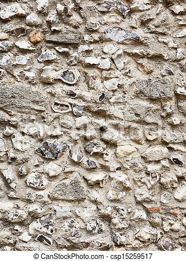 Stone wall - csp15259517