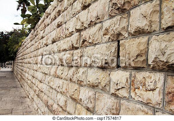 Stone wall - csp17574817