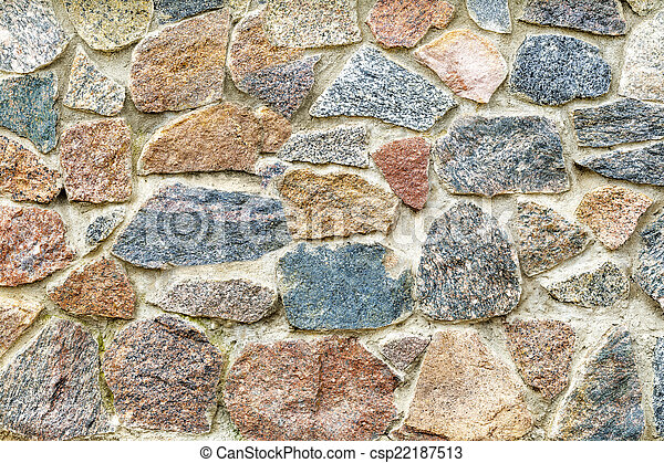 Stone wall - csp22187513