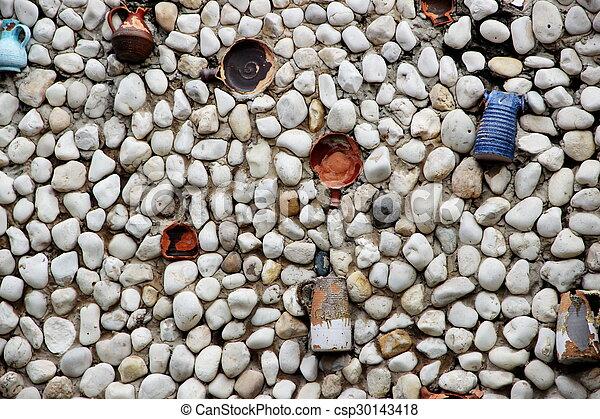stone wall - csp30143418