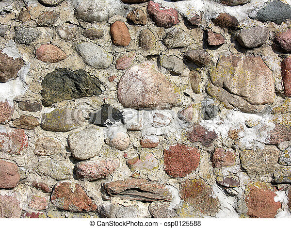 Stone wall - csp0125588