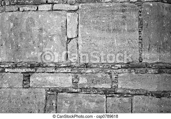 stone wall - csp0789618