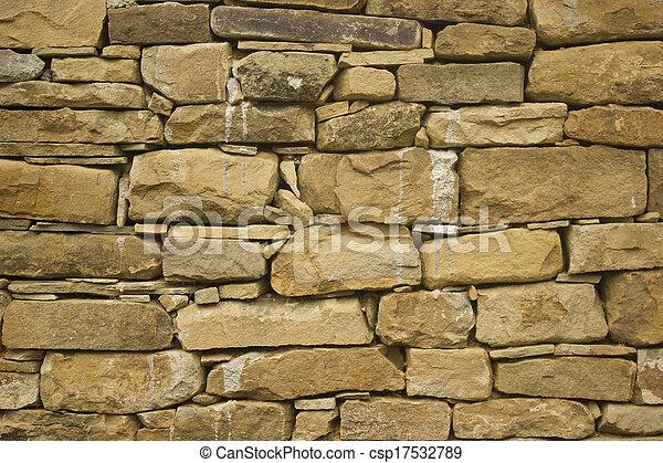 Stone wall - csp17532789