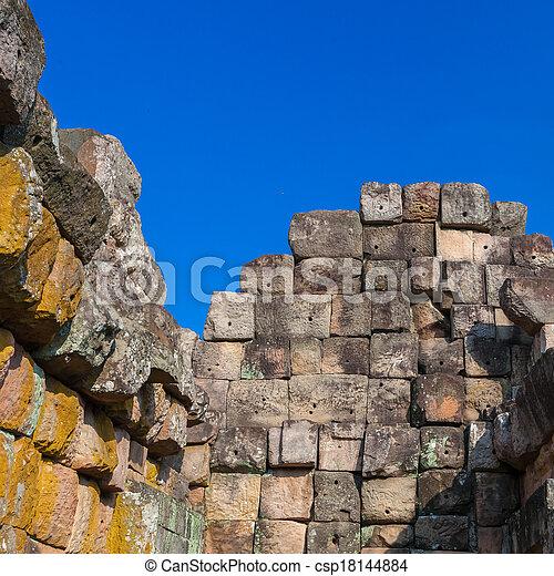 stone wall - csp18144884