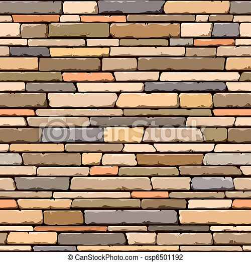 Stone wall. Seamless pattern. - csp6501192