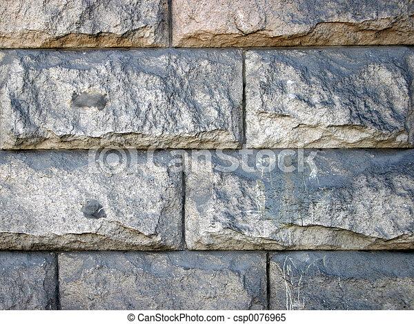Stone wall - csp0076965