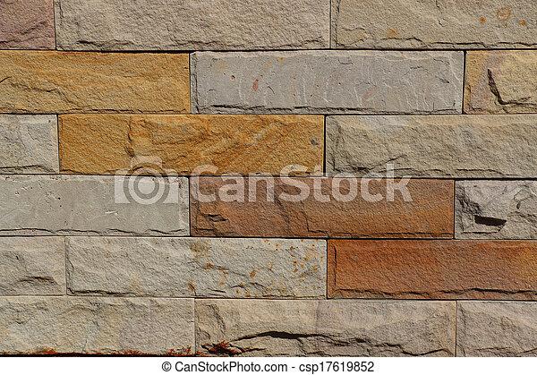 Stone wall - csp17619852