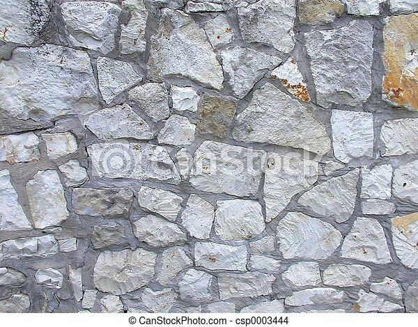 Stone wall - csp0003444