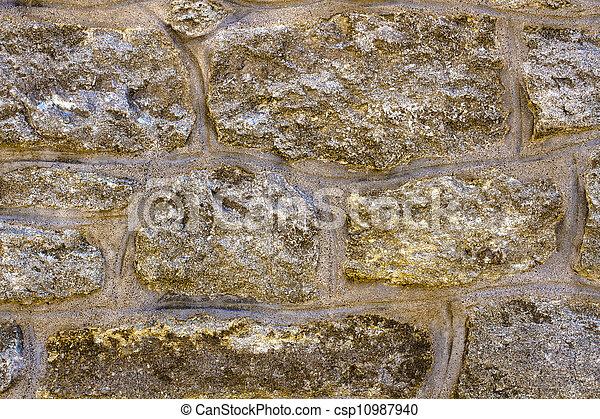 stone wall - csp10987940