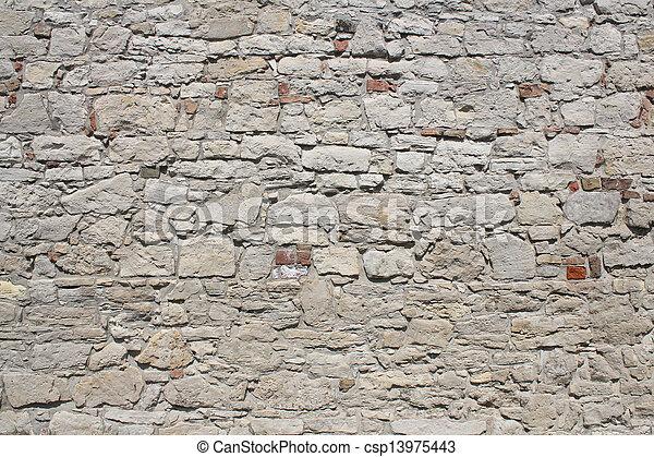 stone wall - csp13975443