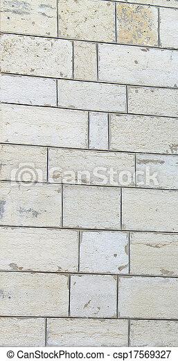 Stone wall - csp17569327