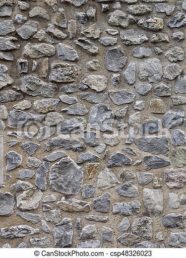 Stone Wall - csp48326023