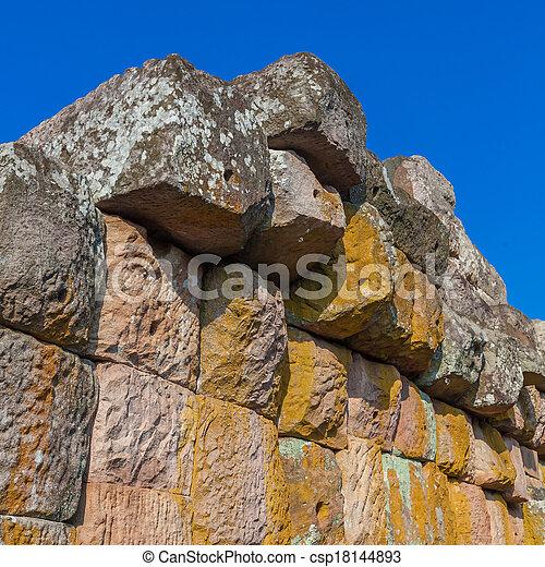 stone wall - csp18144893