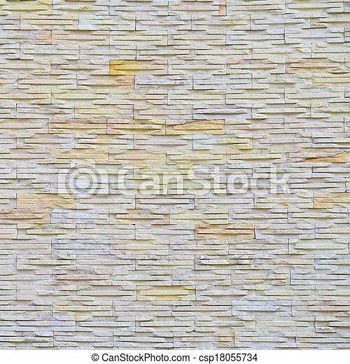 stone wall - csp18055734