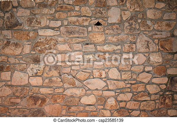 Stone wall - csp23585139