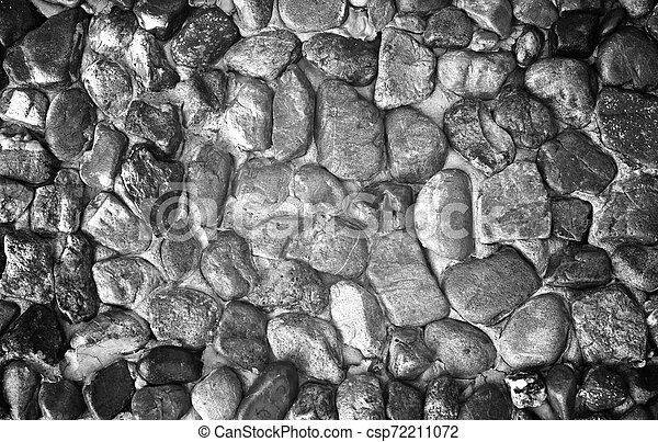 stone wall surface with cement - csp72211072