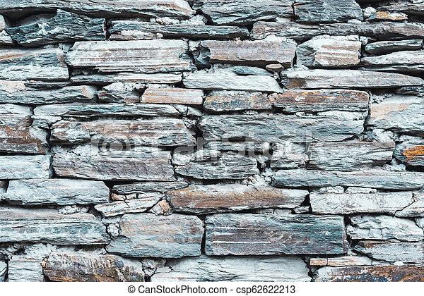 Stone wall texture - csp62622213
