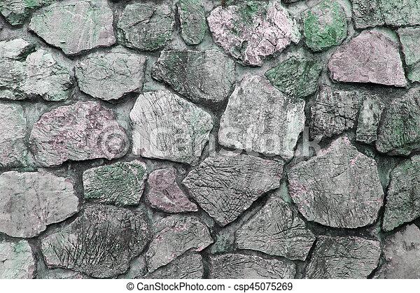 stone wall texture - csp45075269