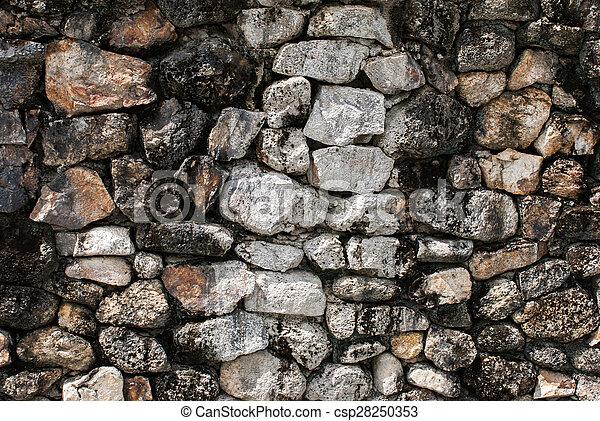 Stone wall texture - csp28250353