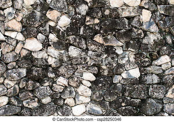 Stone wall texture - csp28250346