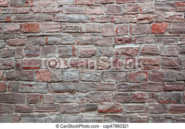 stone wall texture - csp47960321